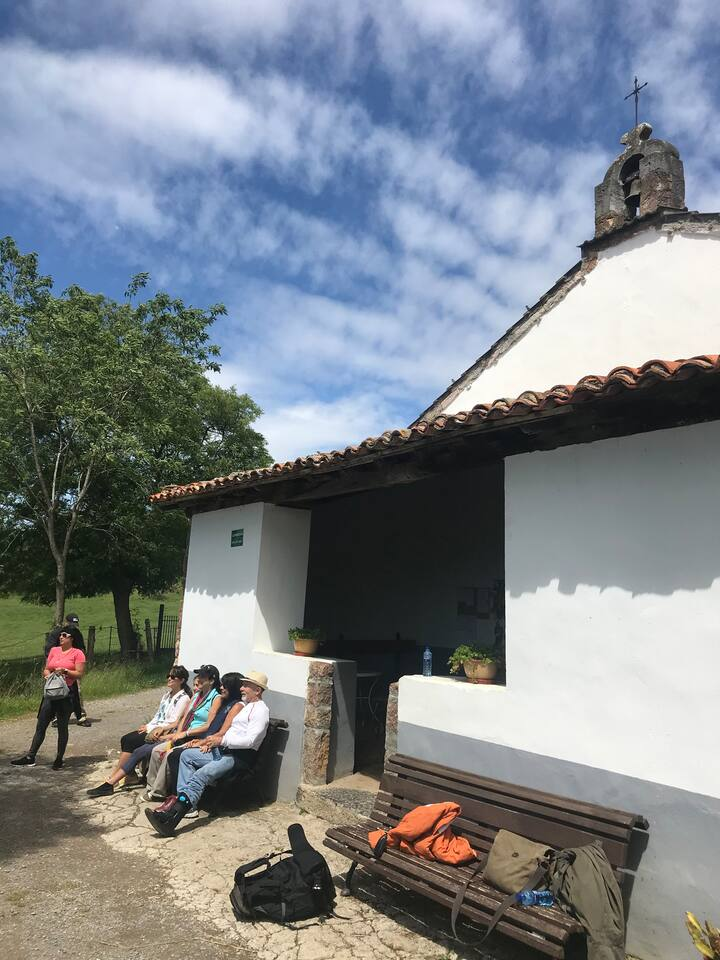 Historic chapel along The Way