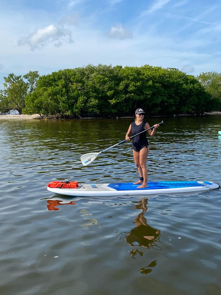 Perfect for beginners to paddleboarding