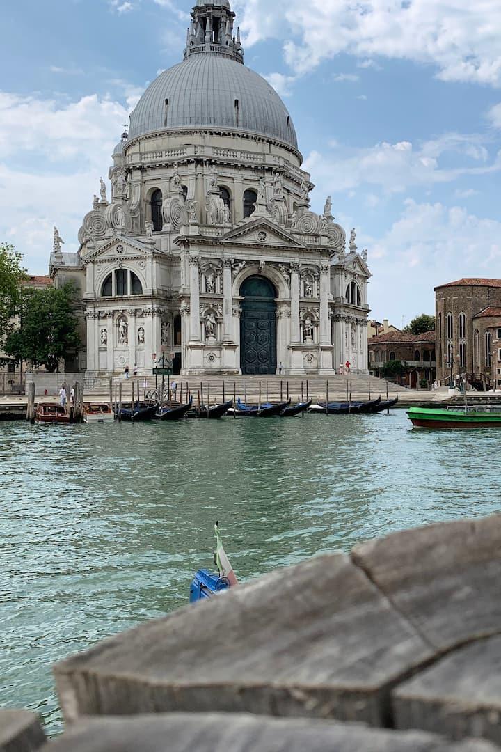 A great view of Basilica della Salute