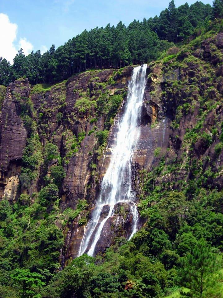 Bambarakanda Falls Highest in Sri Lanka