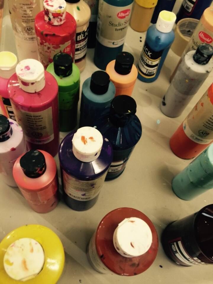 Tempera Paints, non toxic, long lasting