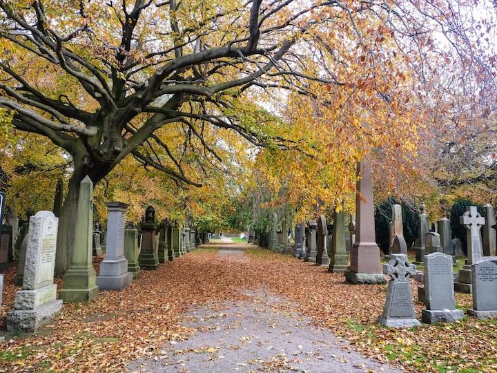 Walk through a chic 19C cemetery