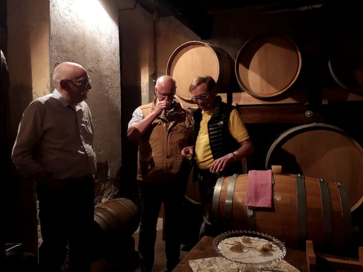 visit to private winery