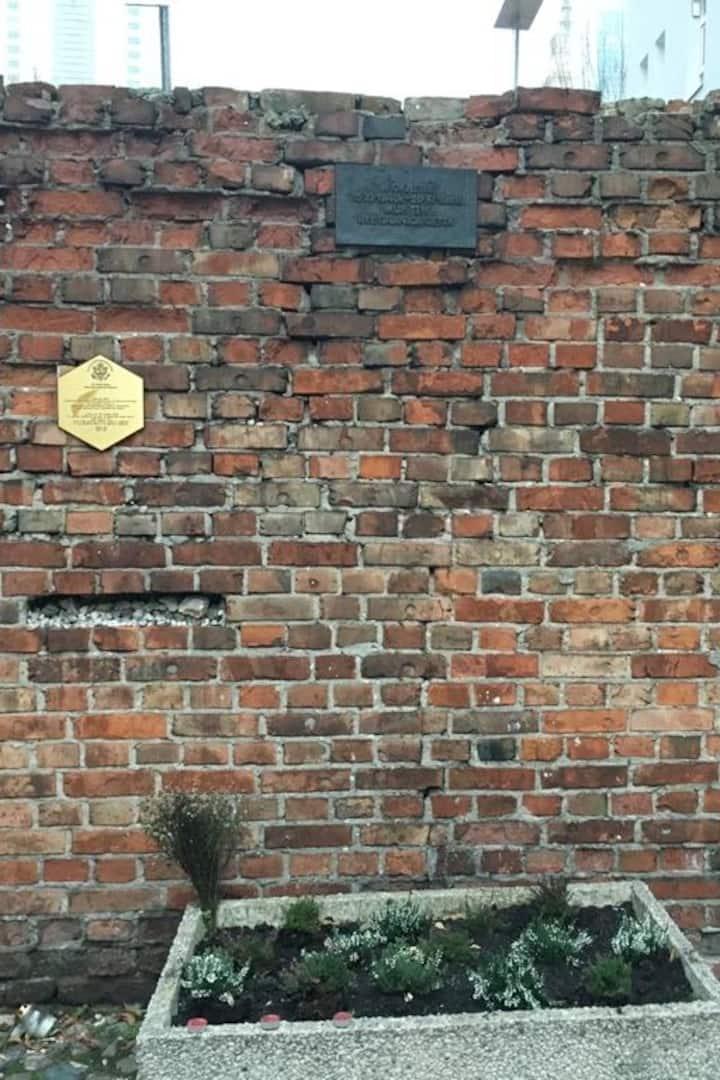 Original Ghetto wall