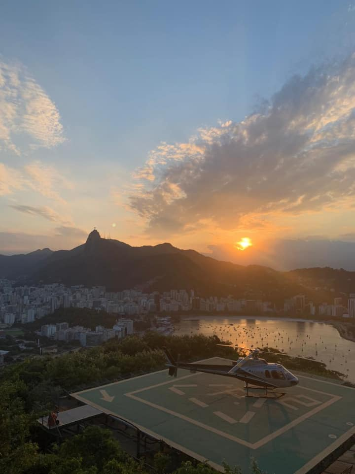 Helideck on Urca's Hill