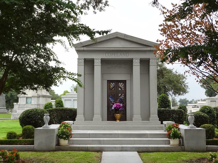 Popeyes Founder Al Copeland's Tomb