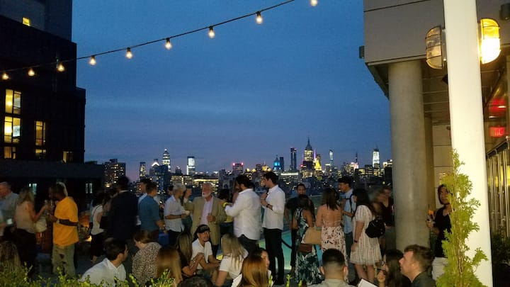 Rooftop Views of Manhattan