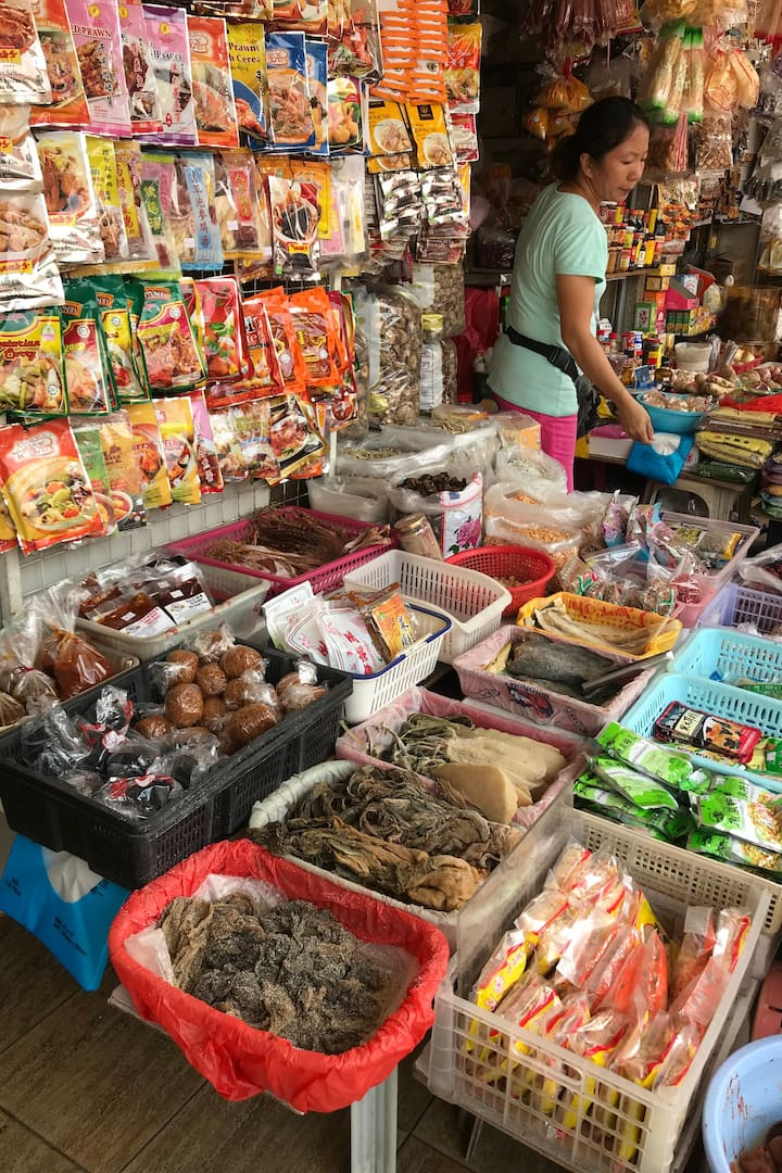 Dry market for everything we need
