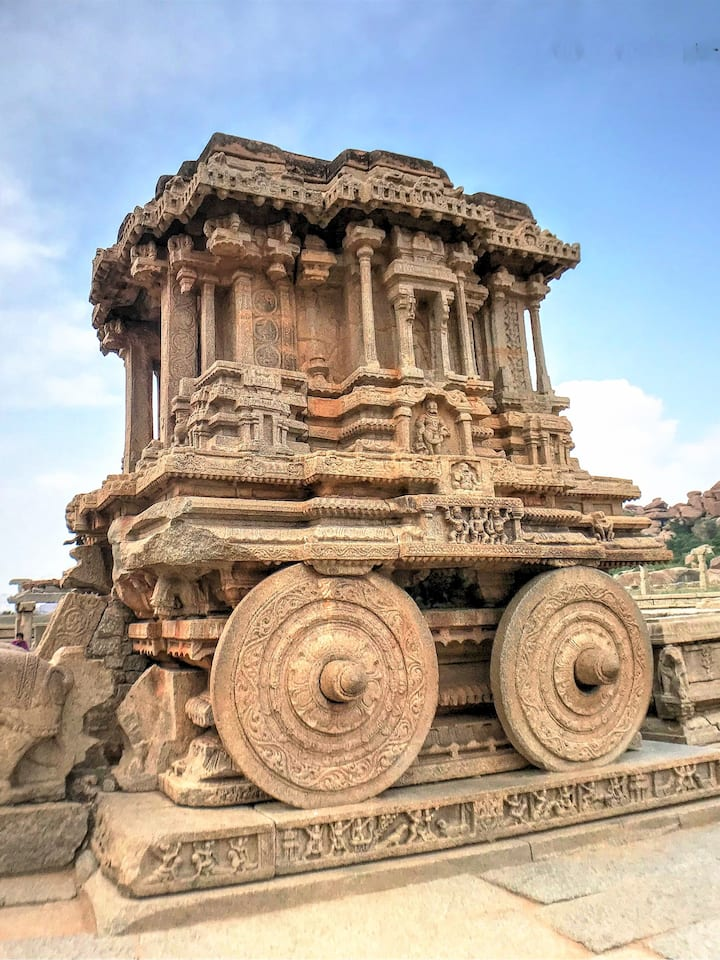 The Iconic Stone Chariot