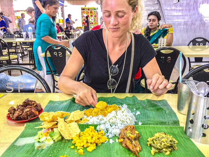 Banana Leaf Lunch