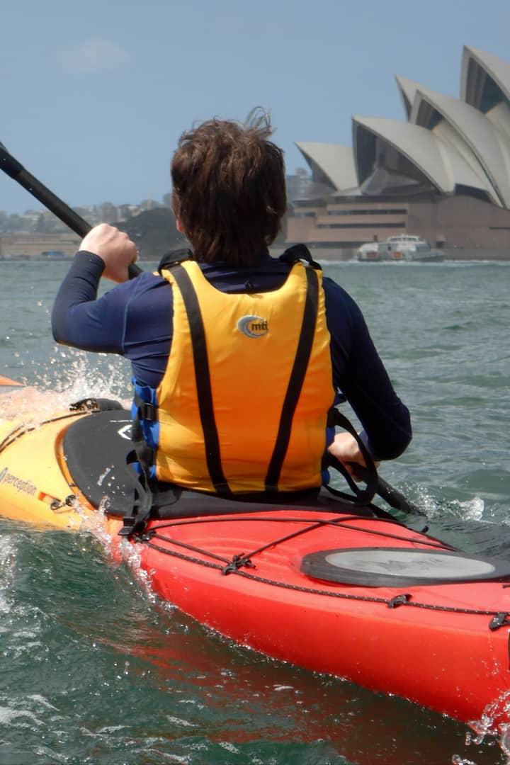 Choose a single or a double sea kayak