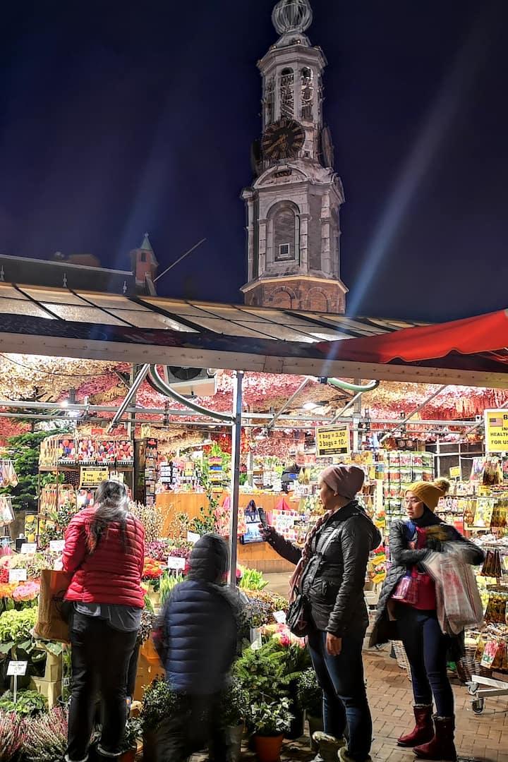Плавучий рынок цветов