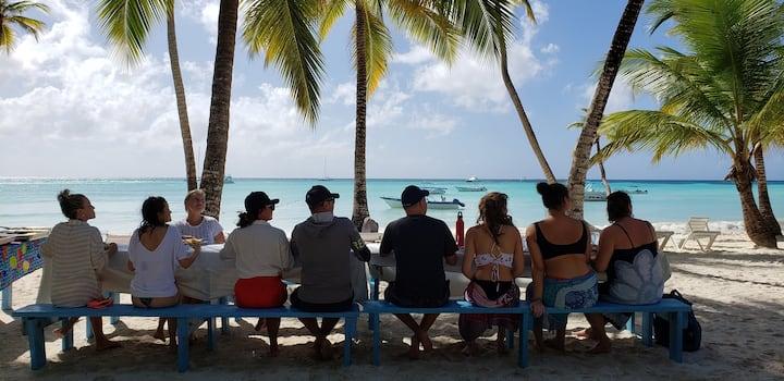 Saona Island Private Buffet Lunch