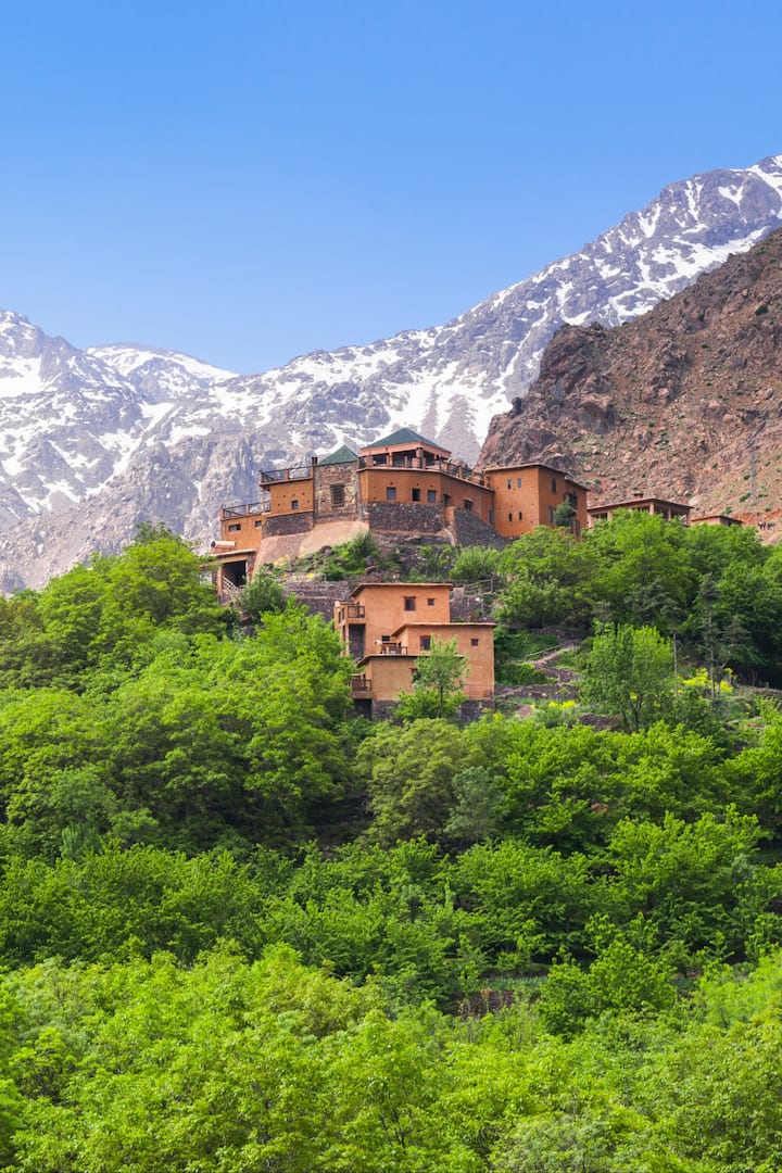 Mount Toubkal cover by Snow