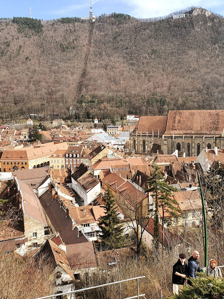 View from the White Tower of Brasov