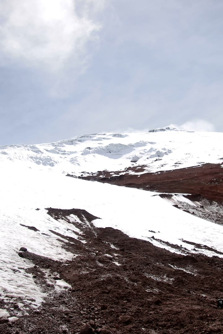 The majestic Cotopaxi Volcano