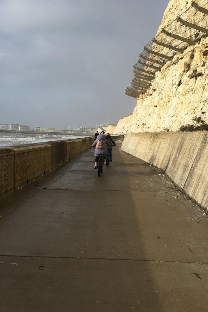 Brighton Undercliffs trail