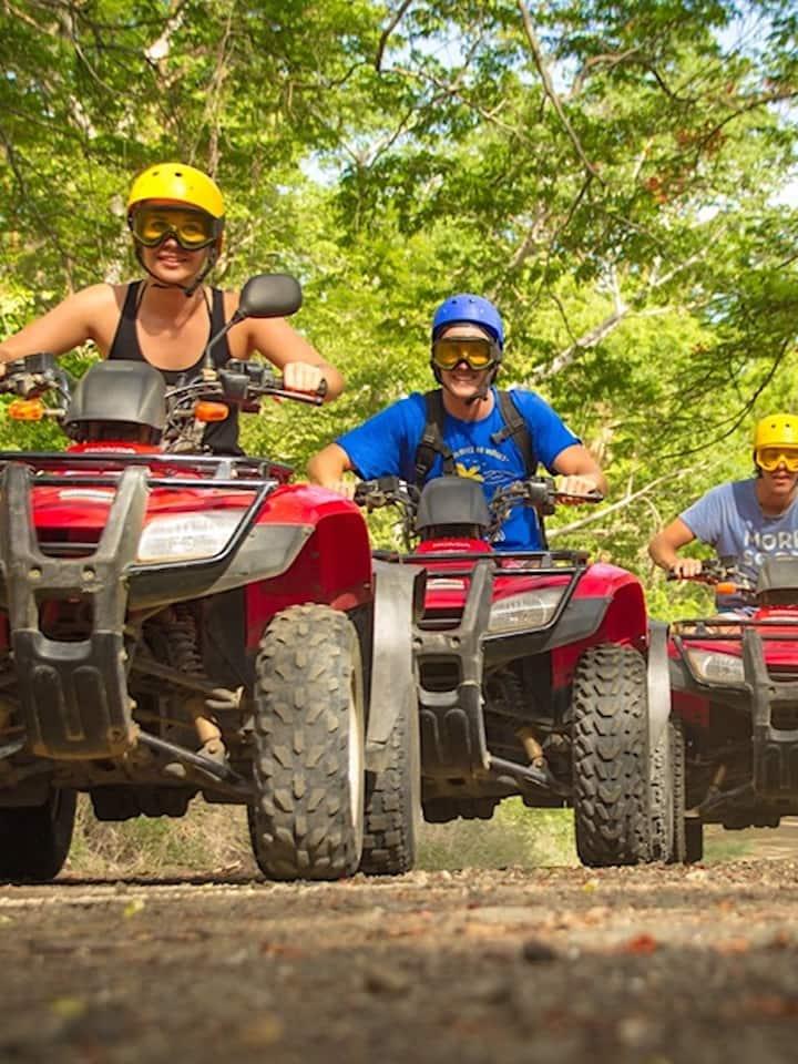 OPTIONAL ATV adventure $55 USD extra