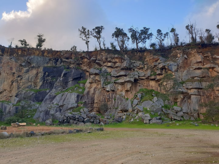 Secluded Hudman Quarry