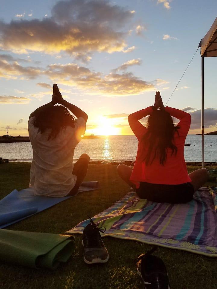 Private Sunset Yoga