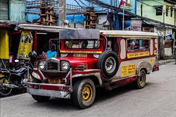 Famous Filipino Jeepney