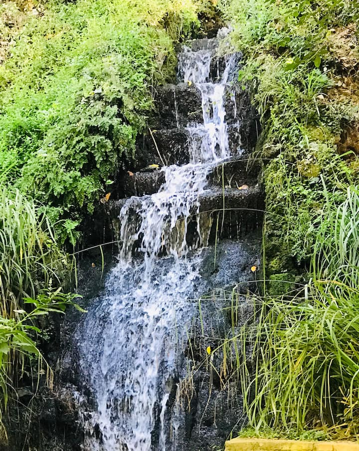Water Fall in the Alhambra Woods