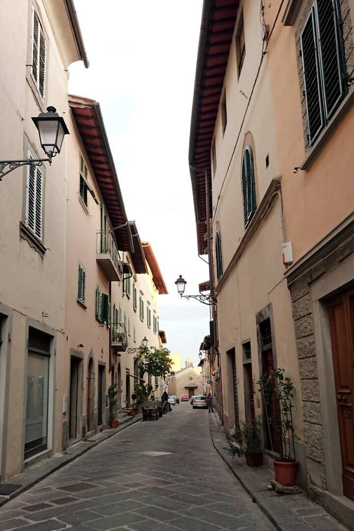 San Casciano, in Chianti, my home town