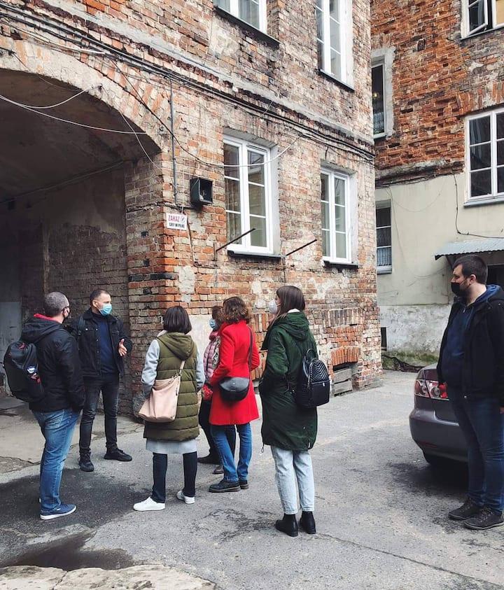A typical Warsaw Praga's tenement