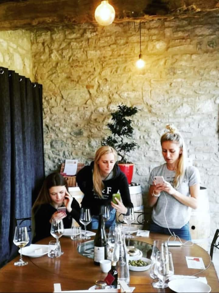 Wine tasting at Vineria del Carmine