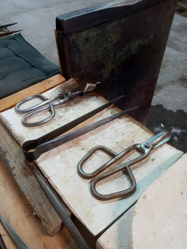 Murano glass school is still active!