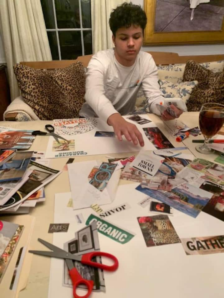 Vision Boards for young and old alike
