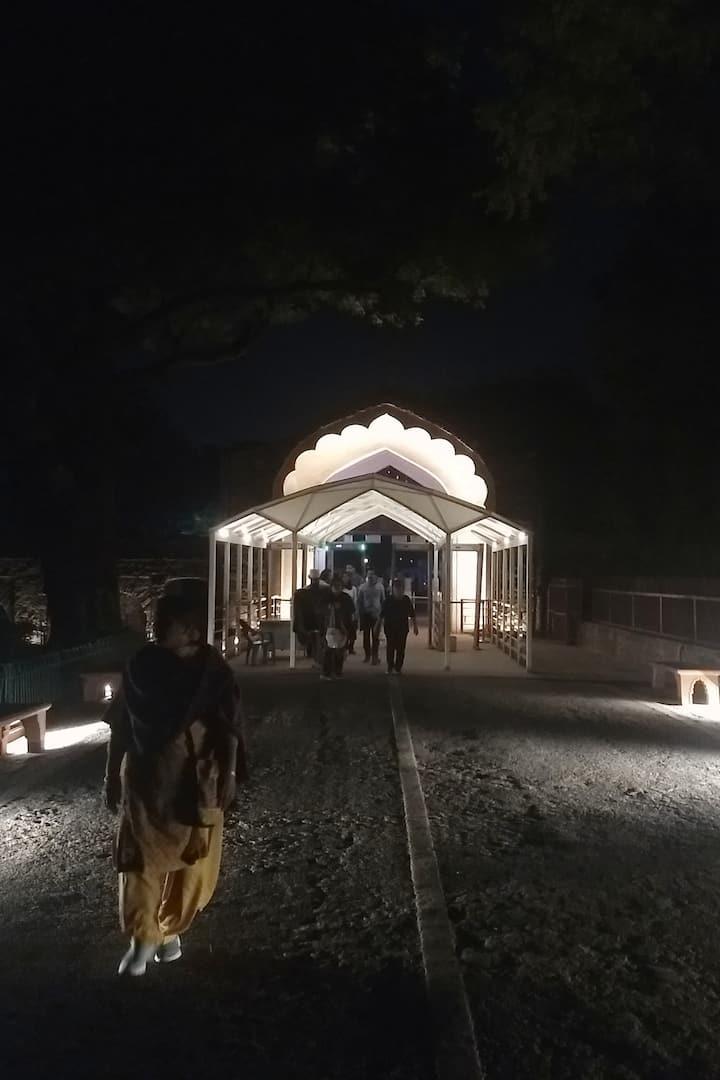Mughal Styled entrance