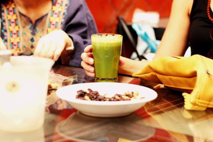 Vegan and vegetarian options in BA