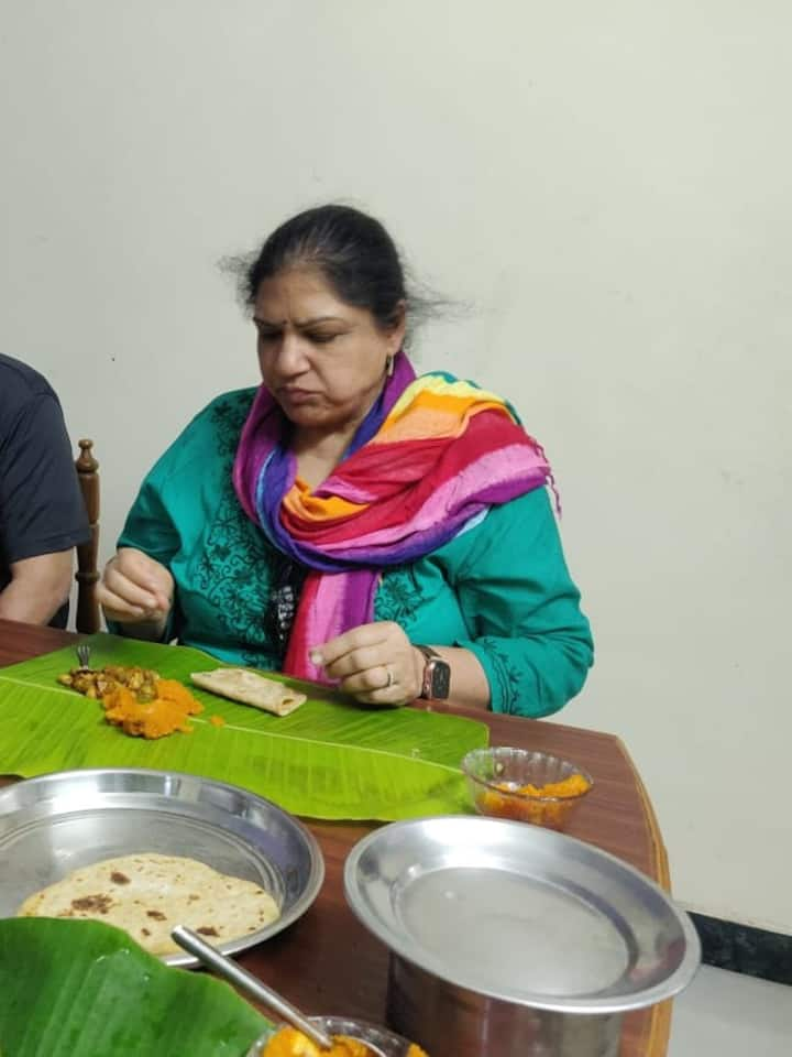 Traditional food served