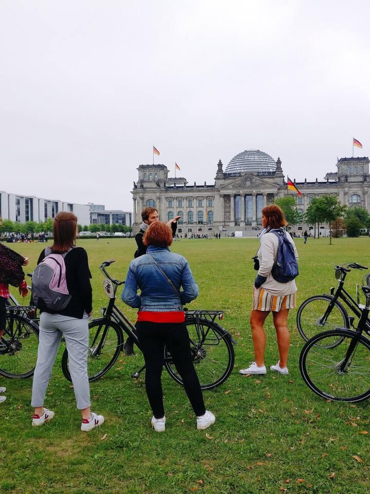 Face au Reichstag