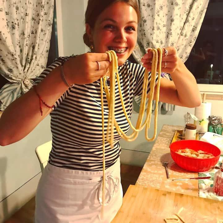 Satisfaction in Pasta making