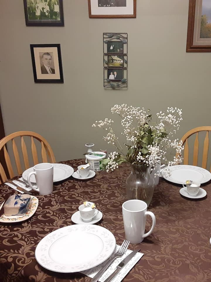 Our family dining table