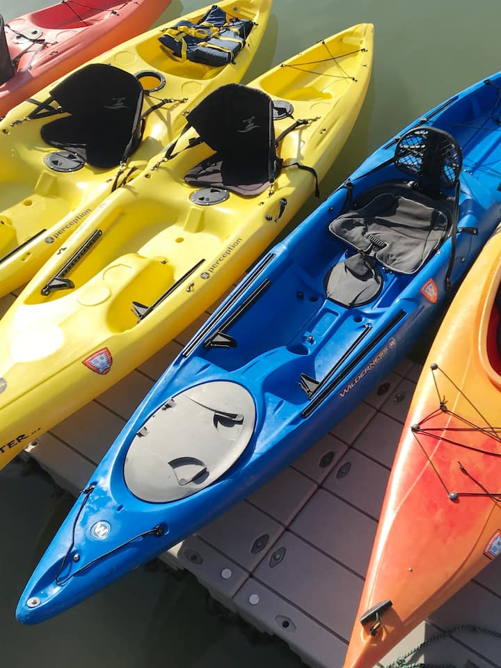Your kayak is ready!