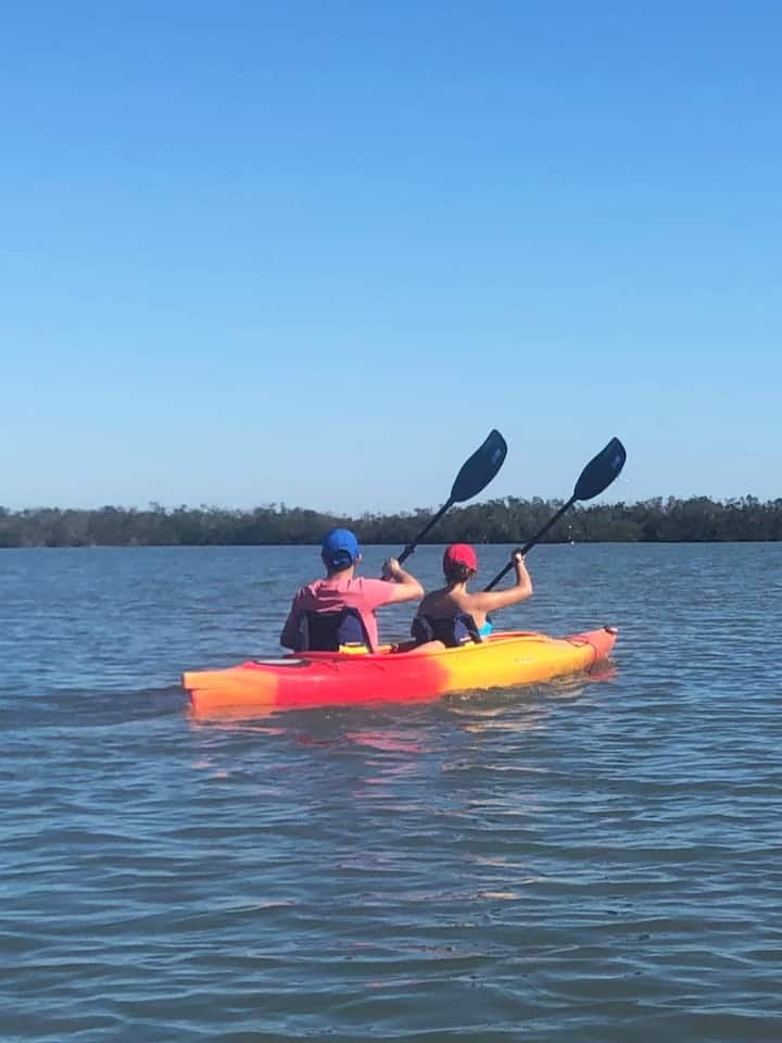Gliding thru Tarpon Bay