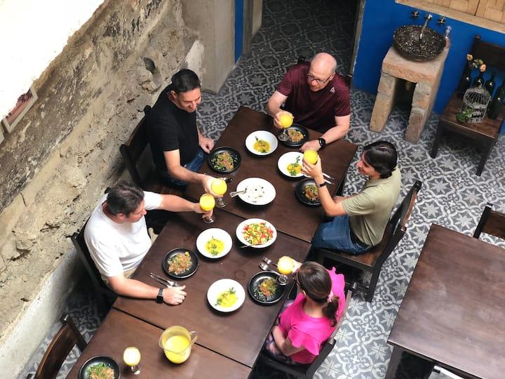 Exclusive dining in unique spaces