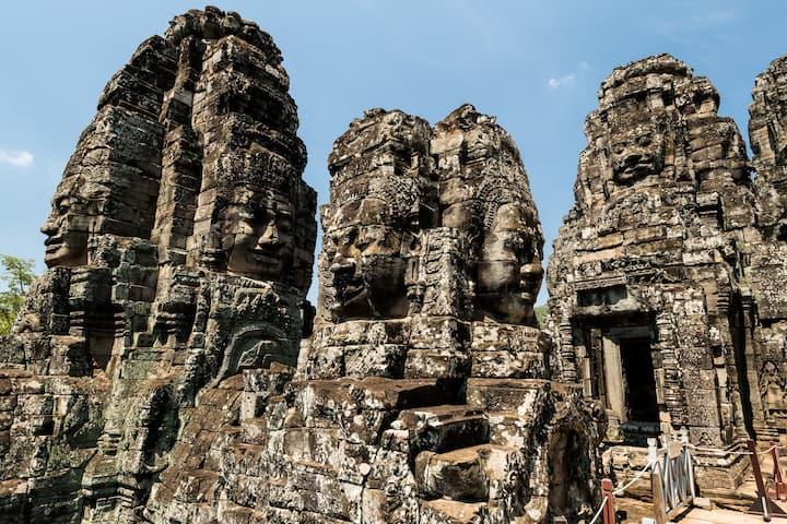 Bayon - Angkor Thom temple