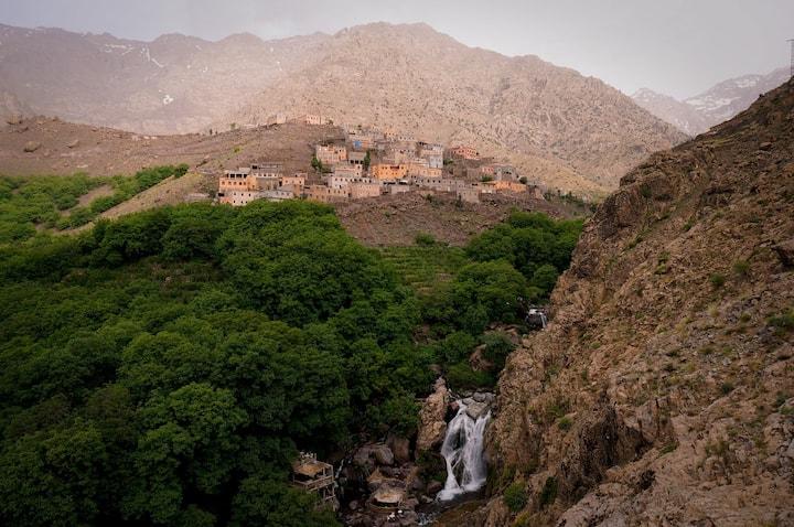 Waterfalls  of imlil