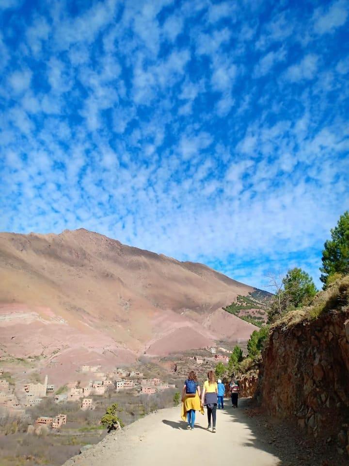 Trekking in imlil
