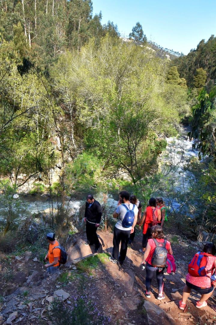 Hike through breathtaking trails