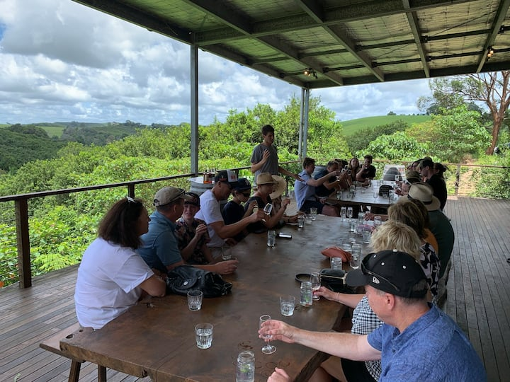 Cape Byron distillery guided tasting
