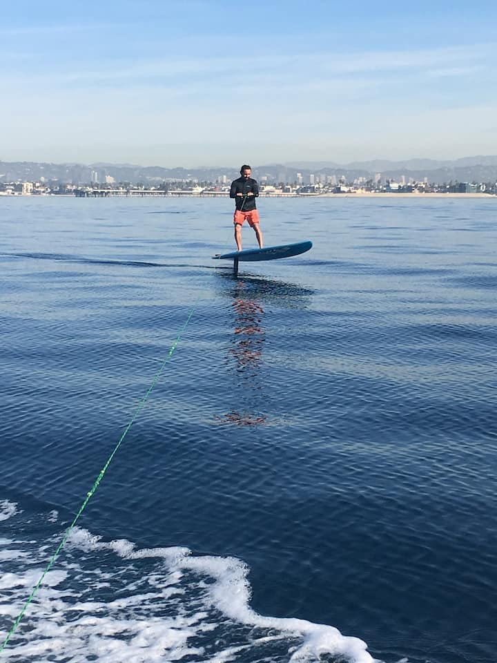 HydroFoil surfing  unlike anything else