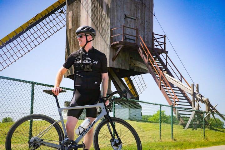 Authentic restored windmill