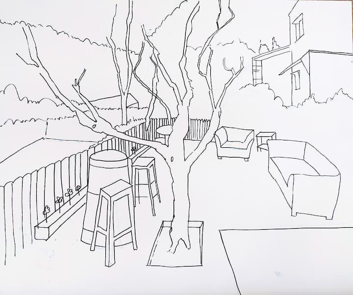 Dibujo del entorno