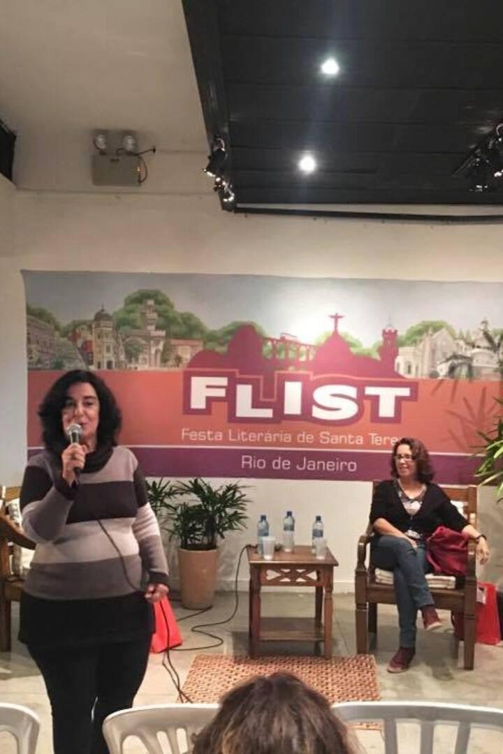 Palestra na FLIST sobre Literatura
