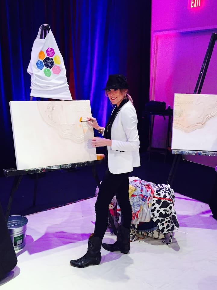 Brandi C. Facilitator Artist